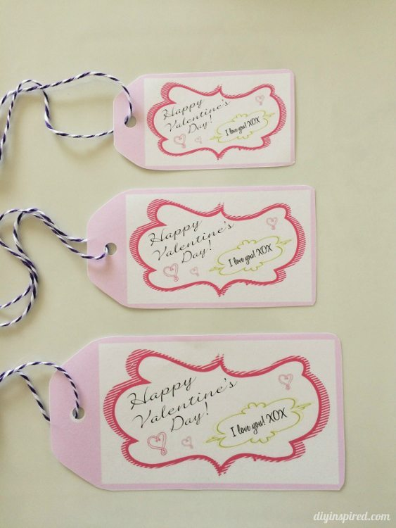 Free Valentine Gift Tags