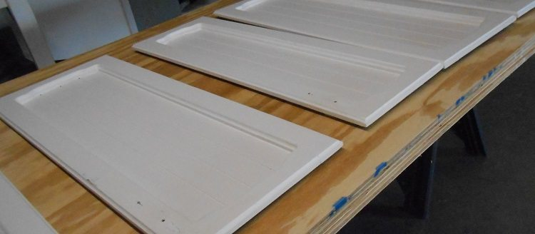 Kitchen Cabinet Doors Repurposed
