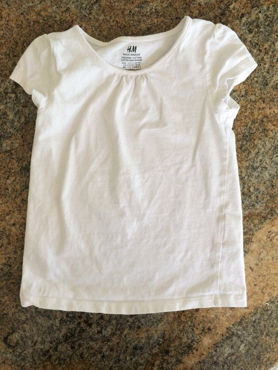 100th Day of School Shirt Decorating Idea