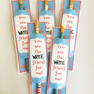 Pencil Valentine Printables
