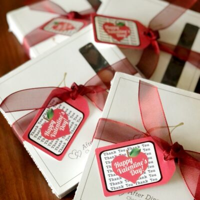 Printable Valentine Gift Tags