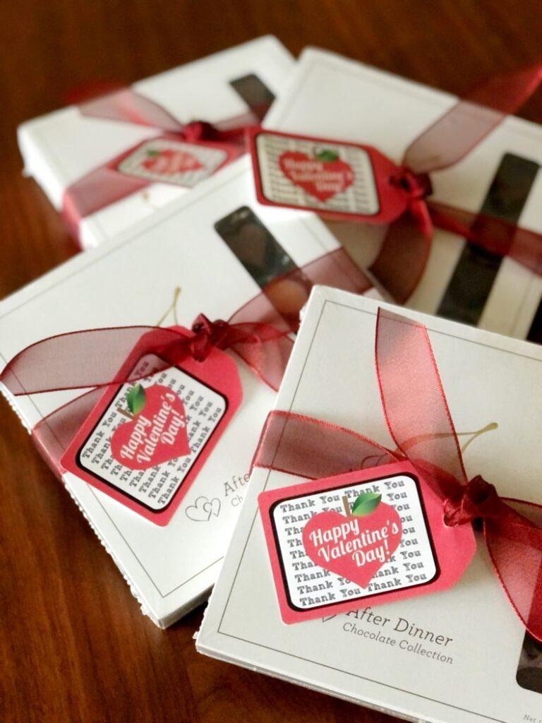 Free Printable Teacher Valentine Gift Tag