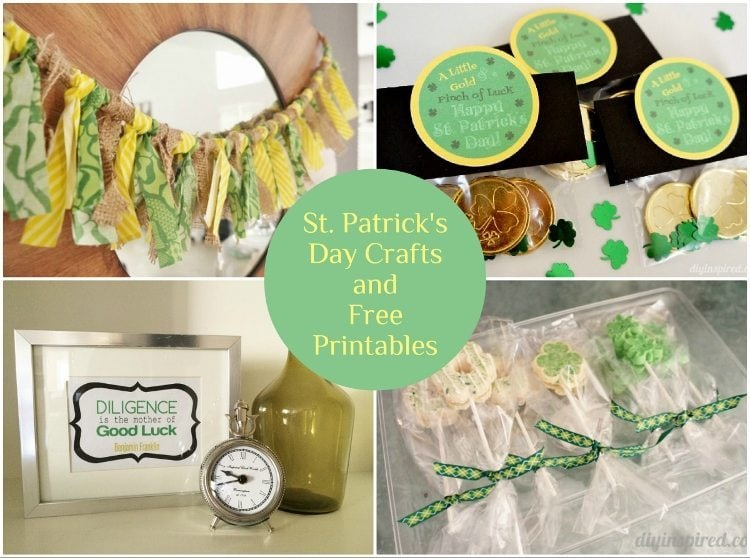 St. Patrick's Day Crafts and Printables