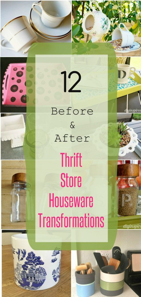 Thrift Store Housewares Transformations