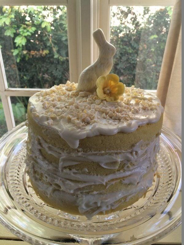 Easter Dessert Table Cake