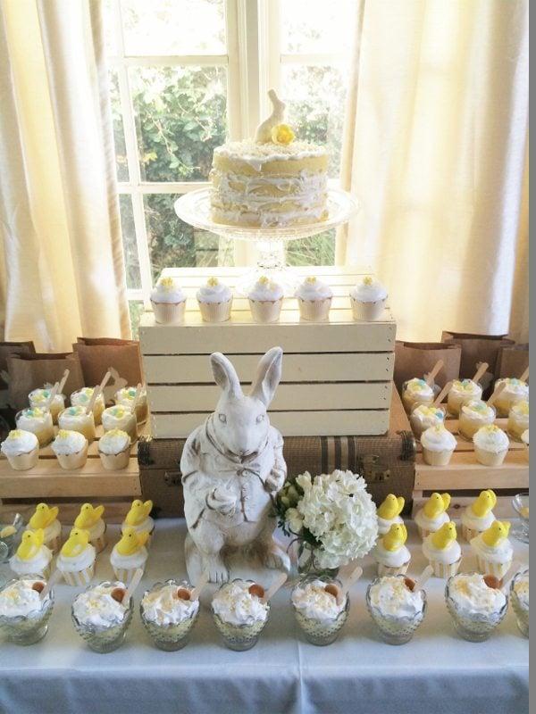 Easter Dessert Table DIY Inspired