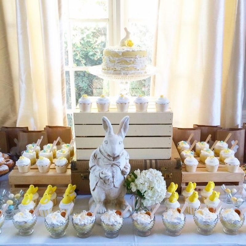 Easter Dessert Table Sweet Treats