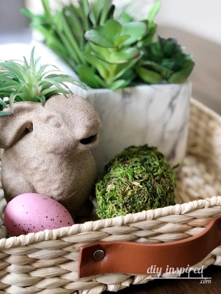 Easy Easter Bunny DIY Decor