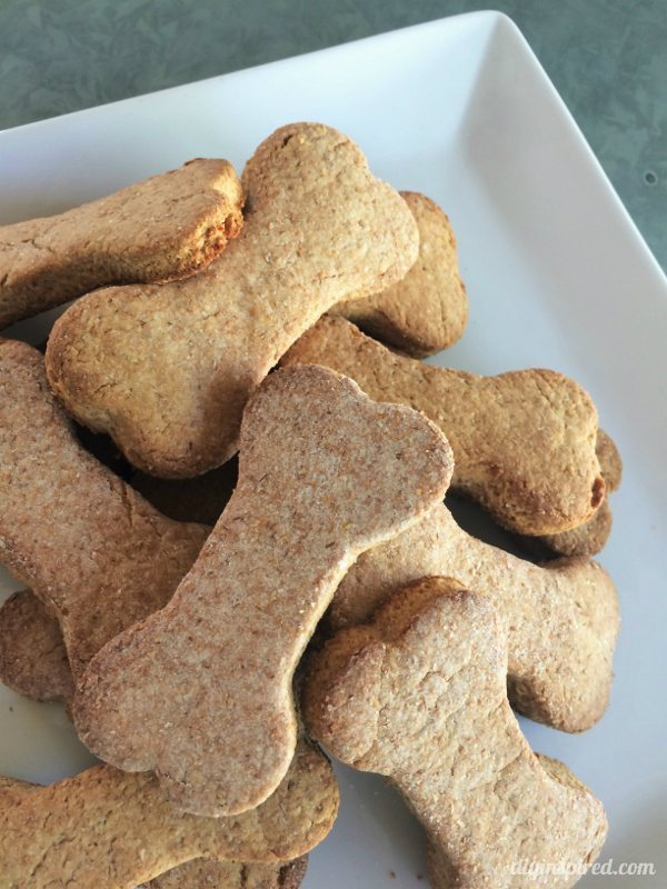 Easy Four Ingredient Dog Treats - DIY Inspired