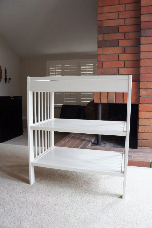 Repurposed Changing Table