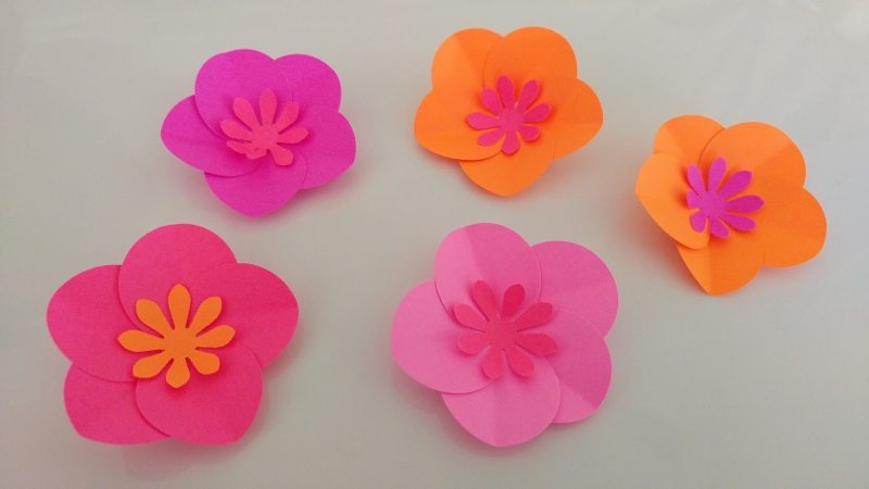 Easy Paper Flowers DIY Video