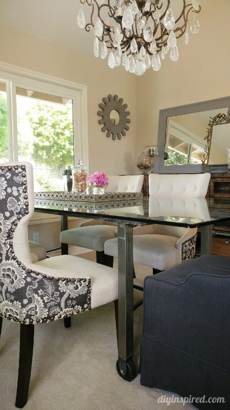 Industrial Dining Room - DIY Inspired