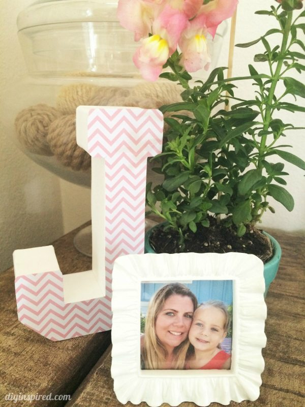 Monogrammed 40th Birthday Party Centerpieces