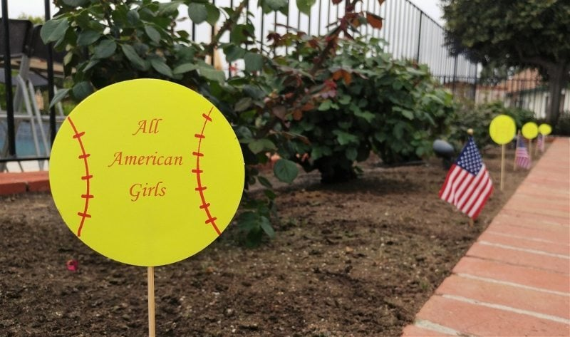 Easy DIY Paper Softball