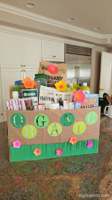 Eco-Friendly Organic Gift Basket for School Auction
