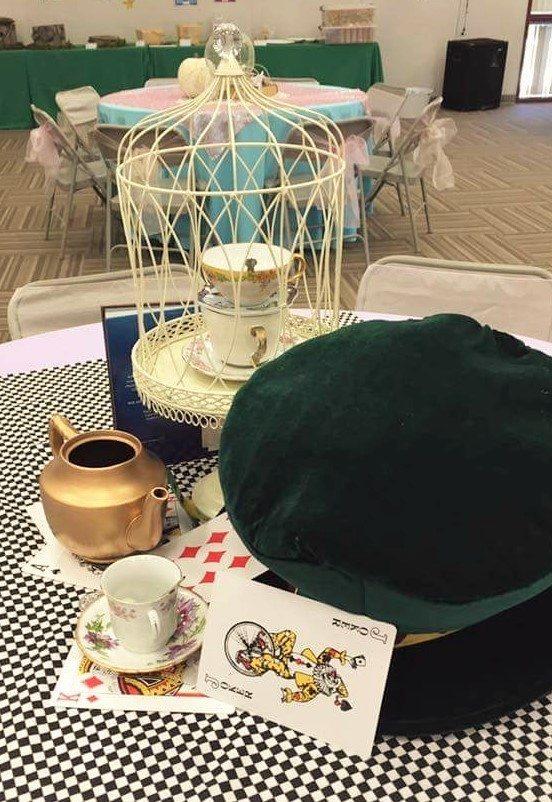 Fairytale Ball - Alice in Wonderland Centerpiece
