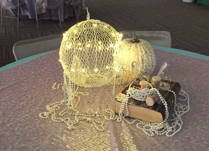 Fairytale Ball - Cinderella Centerpiece
