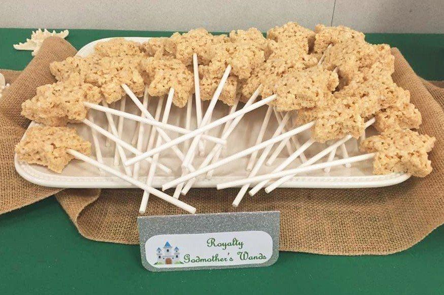 Fairytale Ball - Fairy Godmother Rice Crispy Treat Wands