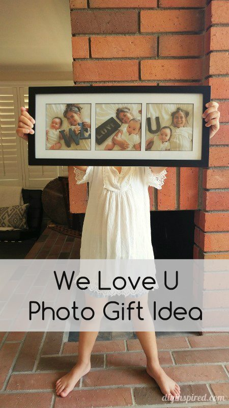 Father's Day Gift DIY Photography Idea with Kids