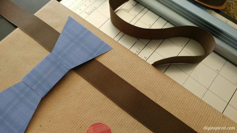 Father's Day Gift Wrapping with Dress Shirt and Suspenders