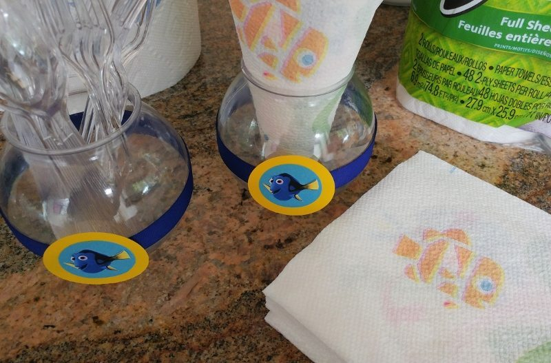 Finding Dory Napkins and Paper Towels