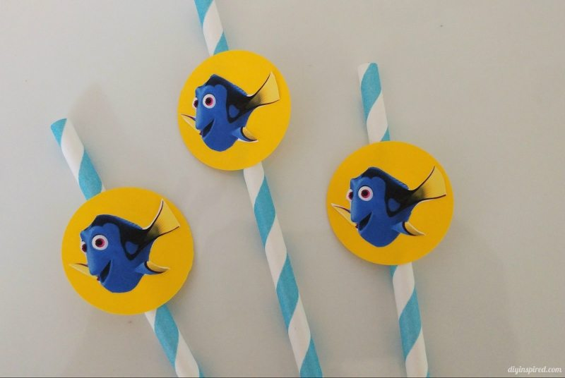 Finding Dory Straws