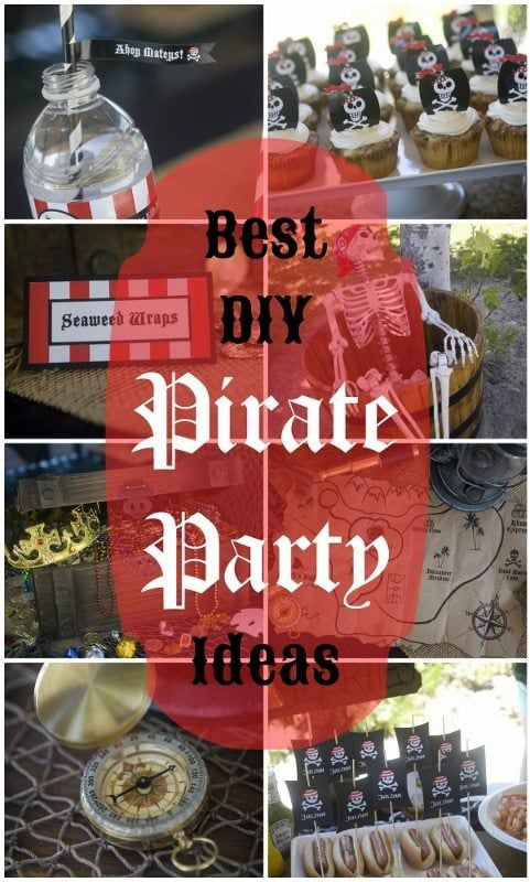 Best DIY Pirate Party Ideas - DIY Inspired