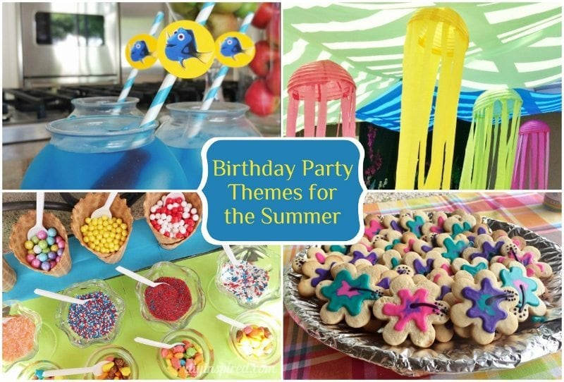 Birthday Party Ideas, Party Craft Ideas - DIY Inspired