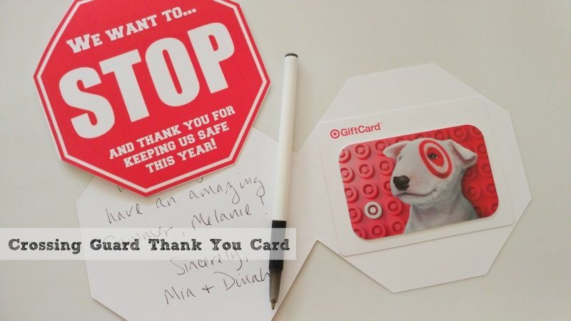 Crossing Guard Thank You Card