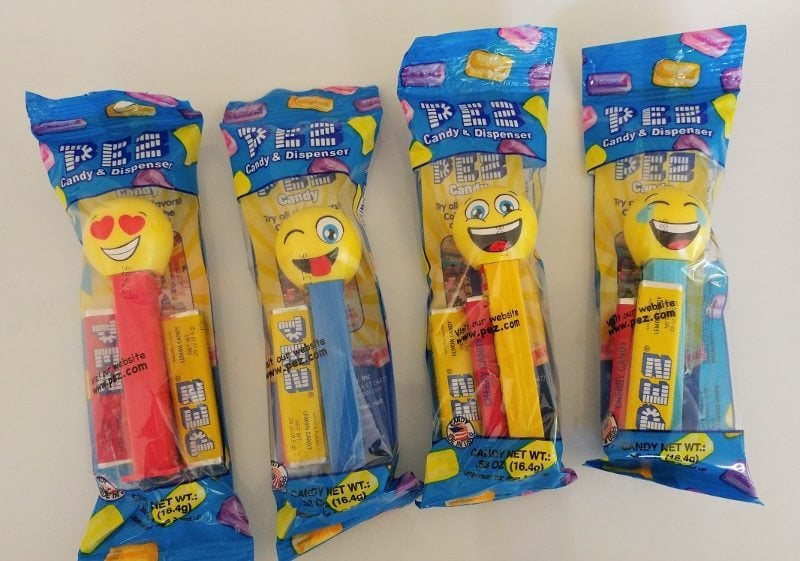 Emoji Pez Dispensers Party Favors