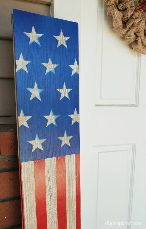 Fourth of July Front Door Decorations