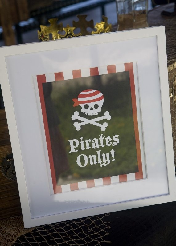 Pirate Party Decorating Ideas Pirates Only Sign