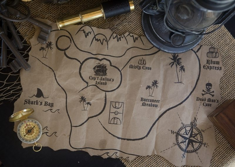 Pirate Party Game Ideas -Treasure Hunt (1)