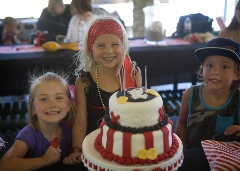 Pirate Party Ideas - Birthday Cake