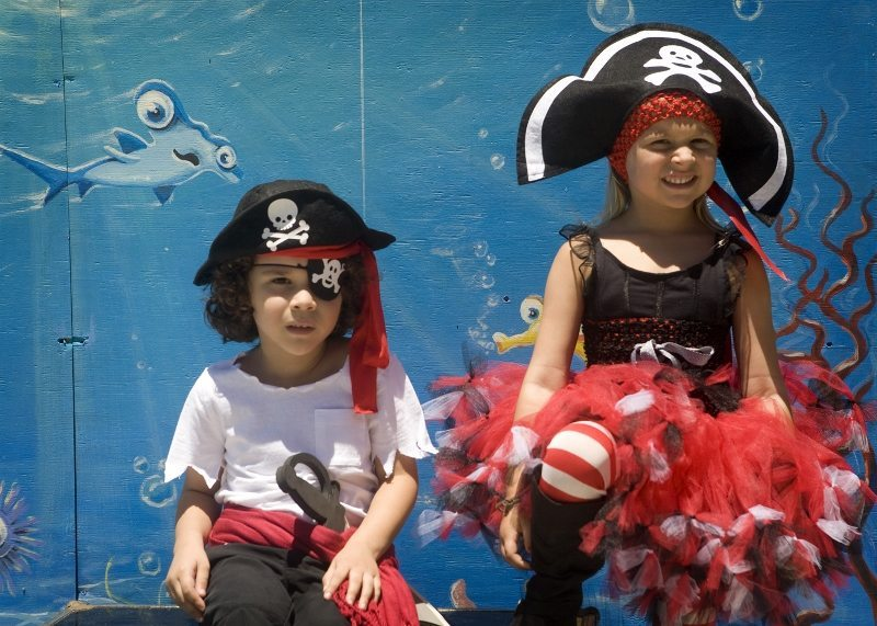 Pirate Party Ideas - Photo Backdrop