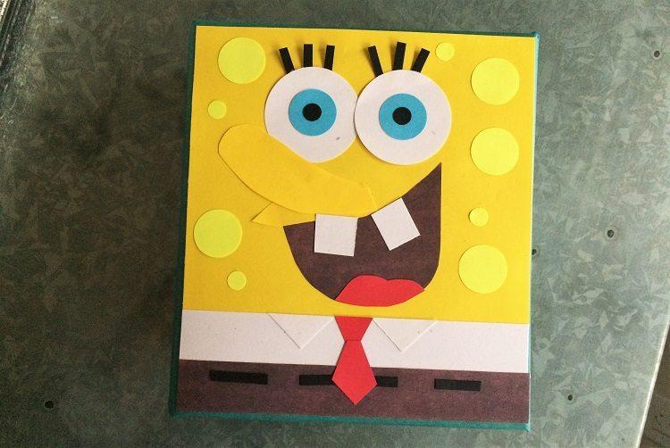 Spongebob-Squarepants-Gift-Wrapping
