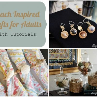 3 Beach Inspired Crafts for Adults with Tutorials