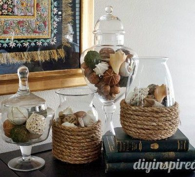 DIY Rope Vase 15 Minute How To