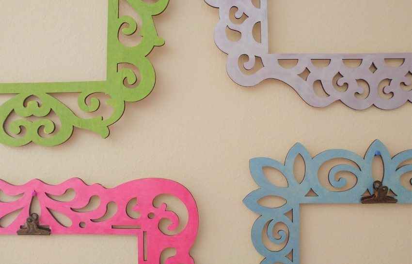 Displaying Kids Artwork with Metal Clips DIY