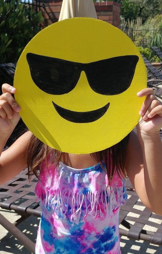 Emoji Photo Booth Props DIY