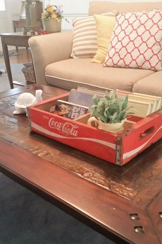 Repurposed Coca Cola Boxes - DIY Inspired