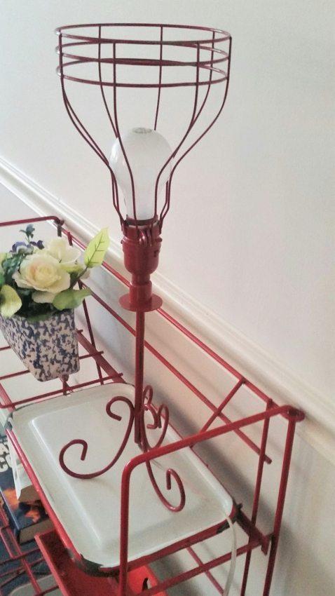 Repurposed Wire Lamp (3)