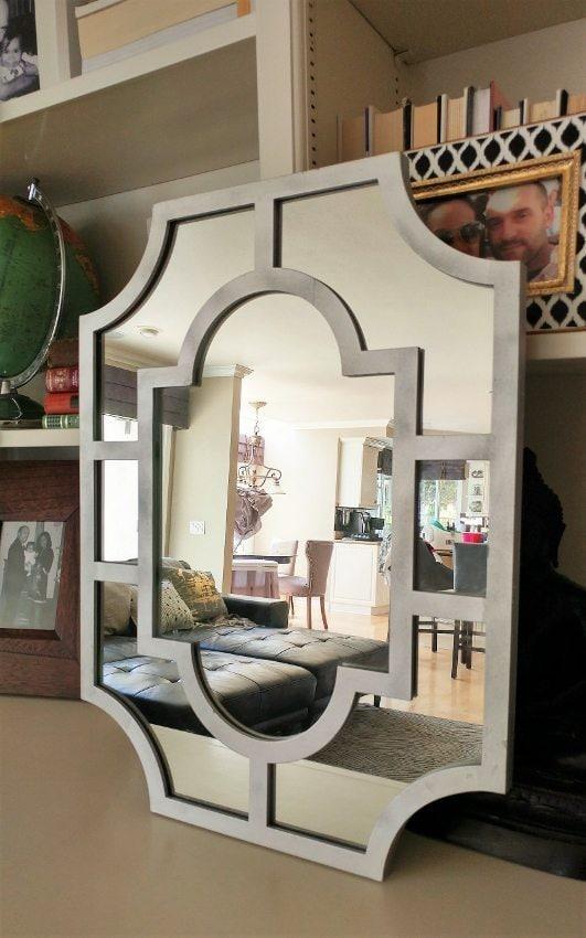 Silver Mirror DIY