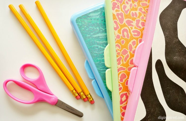 Easy Craft Ideas for Kids - DIY Pencil Box