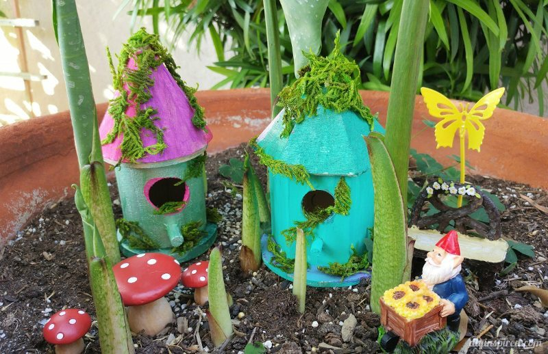 Easy Craft Ideas for Kids - Fairy Houses