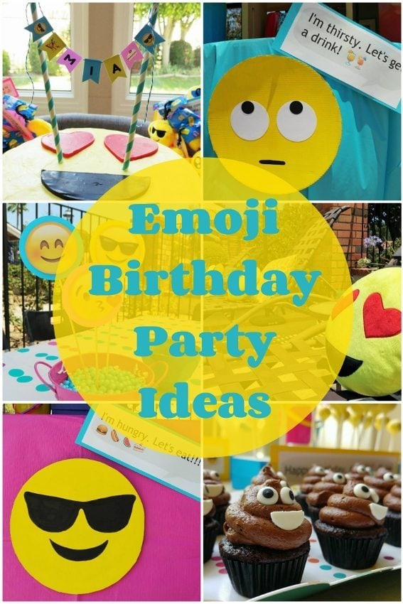 Emoji Birthday Party Ideas - DIY Inspired