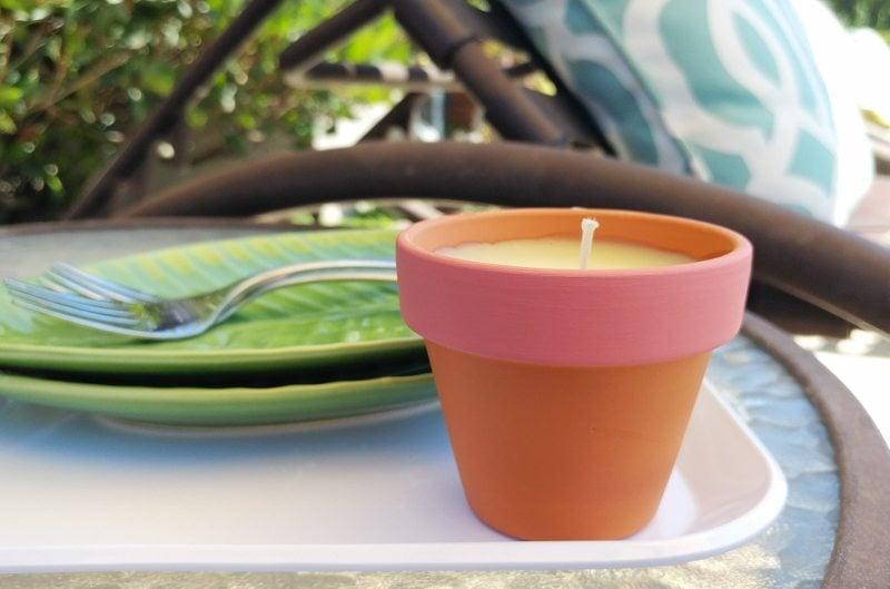 Citronella Candles DIY Gift Idea