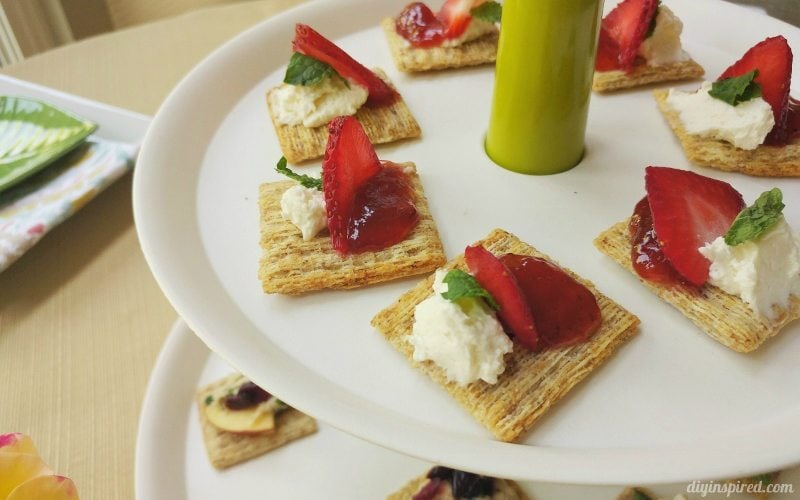 Tips for Hosting a Get Together - Serve both sweet and savory finger food
