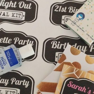 Party Survival Kit Free Printables