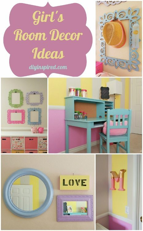 Girls Room Decor Ideas - DIY Inspired
